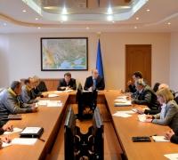 Совещание о ходе реализации проекта усиления и герметизации существующих конструкций ІІ очереди ЧАЭС, 10 ноября 2015 года