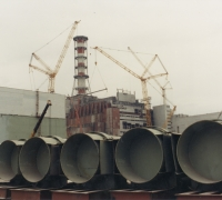 Pipes used during installation of piped structure